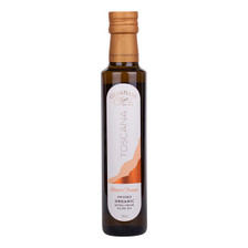 Blood orange infused organic cold pressed extra virgin olive oil