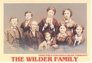 Postcard -Portrait of the Wilder family Wilder
