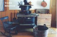 Postcard - Wilder homestead kitchen