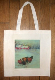 """Coming Home"" tote bag"