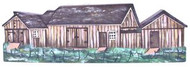 Wooden Barn Miniature