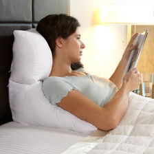 Versatile pillow and wedge cushion combination