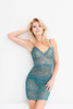 ALL LACE CLASSIC FULL SLIP DARK TEAL