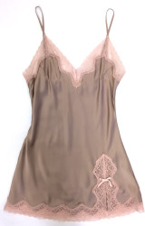 CLASSIC SILK BABYDOLL HONEY