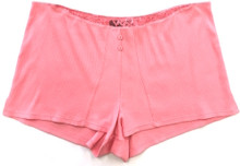 HIGH STREET TAP SHORT PALE CORAL