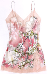 CLASSIC SILK PRINTED BABYDOLL LOVE STORY
