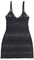 ALL LACE GLAMOUR FULL SLIP BLACK