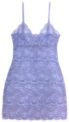 ALL LACE CLASSIC FULL SLIP PERIWINKLE