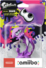Nintendo Amiibo Splatoon Inkling Squid (Neon Purple)