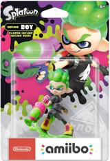 Nintendo Amiibo Splatoon Inkling Boy (Neon Green)