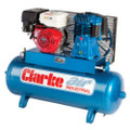 CLARKE AIR COMPRESSOR HONDA 8HP PETROL 23CFM 150 LTR SP15ND SP27C150