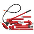 CLARKE 10 TON FAST HYDRAULIC PUMP RAM and HOSE CAR BODY REPAIR