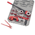 CLARKE PLUMBERS PIPE THREADING KIT 10 PIECE CHT418