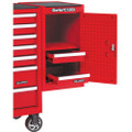 CLARKE TOOL BOX SIDE EXTENSION LOCKER RED SL26B