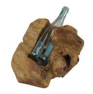 Carved Wine holder - 1 Bottle