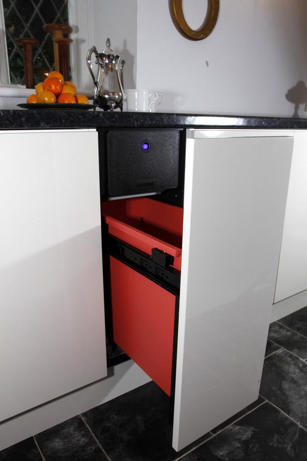 K012 Krushr Compactor Open K012 Fully Integrated Kitchen ...