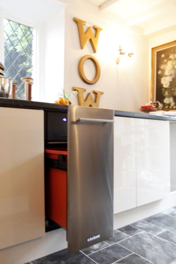 K012 Krushr compactor with optional stainless steel door