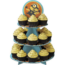 Despicable Me 3 Treat Stand 24 Cupcake Holder Party Centerpiece Wilton