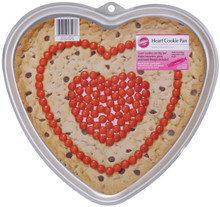 Giant Heart Shaped Cookie Pan Valentines Day Wedding Anniversary
