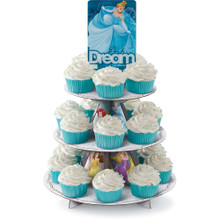 Disney Princesses Treat Stand 24 Cupcake Holder Party Centerpiece Wilton