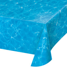 Blue Water 54 x 108 Tablecover Pool Beach Summer Party