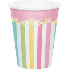 Carousel Baby Shower 8 Ct 9 oz Paper Hot Cold Cups Boy or Girl