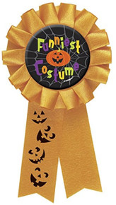 Funniest Costume Award Ribbon Badge Halloween Party