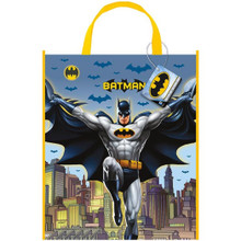 "Batman Loot Favors Party Tote Bag 13"" x 11"""
