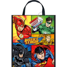"Justice League Loot Favors Party Tote Bag 13"" x 11"""