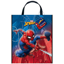 "Spiderman Loot Favors Large Party Tote Bag 13"" x 11"""