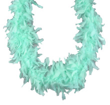 Mint Green 45 gm 72 in 6 Ft Chandelle Feather Boa