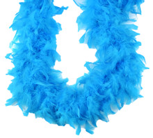 Turquoise 70 gm 72 in 6 Ft Chandelle Feather Boa
