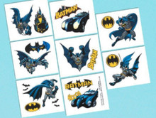 Batman Birthday Party 16 Tattoos Favors Party Supplies