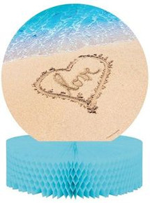 Beach Love Centerpiece Honeycomb Wedding Bridal Shower Luau Party