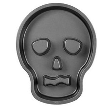 Wilton Skull Cake Pan Halloween non stick Day of The Dead Party Treat Zombie