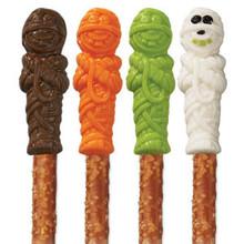 Wilton Candy Melts Pretzel Mummy Mold 6 Cavity 1 design Halloween