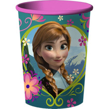 Disney Frozen Party Plastic Souvenir Favor Loot Cup  Elsa Anna