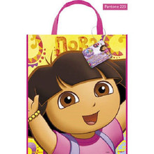"Dora The Explorer Loot Favors Party Tote Bag 11"" x 13"""