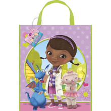 "Doc McStuffins Loot Favors Party Tote Bag 11"" x 13"""