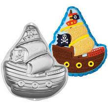 Wilton Pirate Ship Cake Pan Birthday Party Halloween Gasperilla Witch