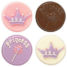 Wilton Candy Melts Cookie Mold Princess make store bought cookies special favors