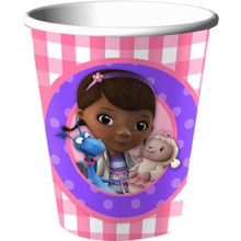 Disney Doc McStuffins Lambie Stuffy Birthday Party 9 oz Cups 8 ct