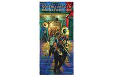 2014 New Orleans Jazz Fest Festival Post Card 45th Preservation Hall Band Osborne