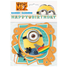 Despicable Me 2 Minions Party Supplies Jointed Banner 12 Ft