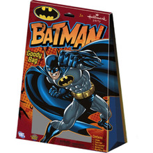 6 Batman Heroes Villains Birthday Party Favors and Bags (6 guest 5 pc each)
