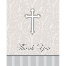 Devotion 8 Thank You Cards for Baptism Confirmation Communion Christening