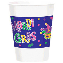 Mardi Gras Beads Party Celebration Collection 16 oz Cups 25 ct Decor