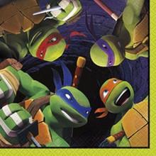 Teenage Mutant Ninja Turtles Beverage Napkins 8 ct Party TMNT