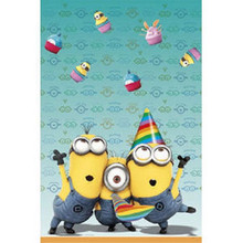 Despicable Me 2 Minions Birthday Party 54in x 84in Plastic Table Cover
