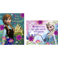 Disney Frozen Invitations 8 ct Thank yous 8 Ct Party Elsa Anna